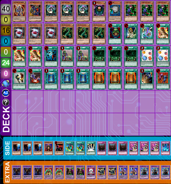 New Year's Freeroll Tournament Top Decklists