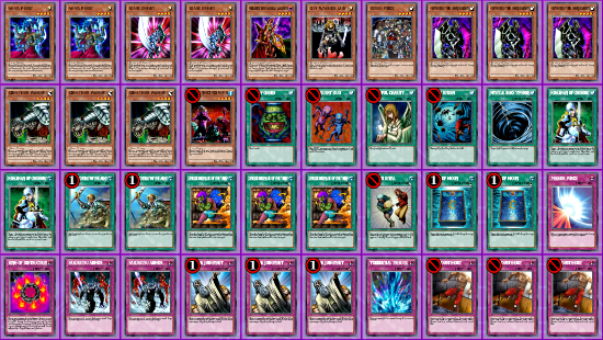 Anti-Meta Gearfried Warriors Goat Format Decklist